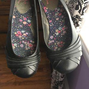 Jellypop Shoes - Black Flats